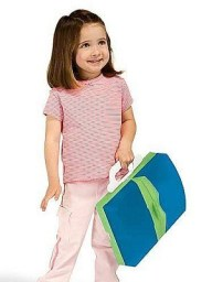 Portable folding travel potty for toddlers