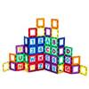 Educational Playmags Magnetic Tile Building Set