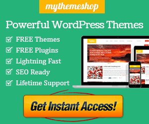 Powerful WordPress Themes from mythemeshop