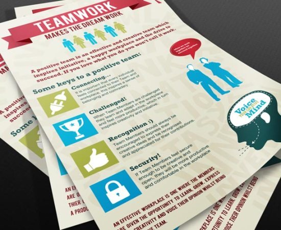 Howzit Media Marketing, BMB Inc Infographic posters