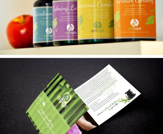 Howzit Media Marketing, Zen Spa Marketing layout