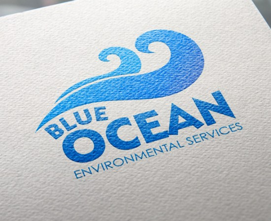 Howzit Media Marketing, Blue Ocean Environmental Services logo