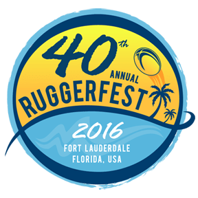 40th Annual Fort Lauderdale Ruggerfest logo