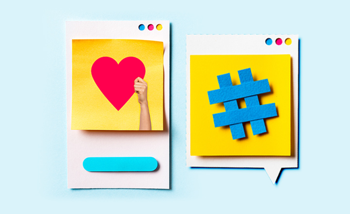 Social Media Development post likes image