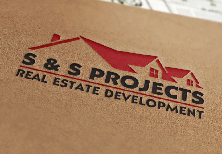 S & S Projects Logo branding