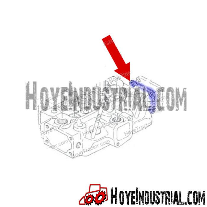 Yanmar Industrial Engine Parts: Cylinder End Plate Gasket