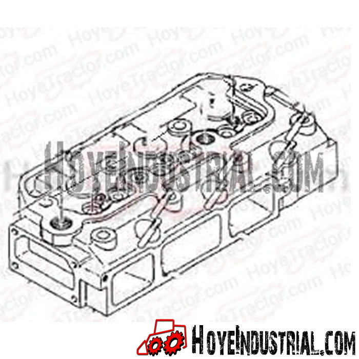 Yanmar Industrial Engine Parts: Cylinder Head Assembly