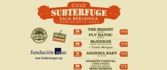 Ir al evento: CICLO SUBTERFUGE