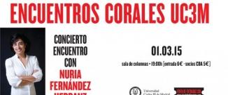 Ir al evento: Encuentros Corales UC3M NURIA FERNÁNDEZ HERRANZ