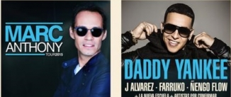 Ir al evento: FRESHFEST con Marc Anthony (SABADO) y Daddy Yankee (DOMINGO)