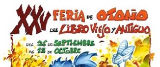 Ir al evento: FERIA DE OTOÑO DEL LIBRO VIEJO Y ANTIGUO