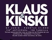 Ir al evento: KLAUS and KINSKI y La Pareja del Año DJs