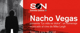 """Ir al evento: Nacho Vegas presenta """"La vida es dulce"""""""