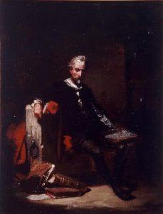 Eduardo Cano de la Peña. Boceto para La prisión de Cervantes, 1850-1899. Museo de Bellas Artes de Córdoba.