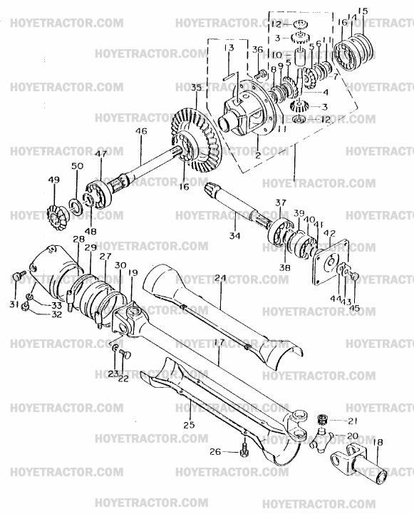 4WD_INTERNAL: Yanmar Tractor Parts