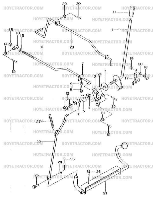 THROTTLE: Yanmar Tractor Parts