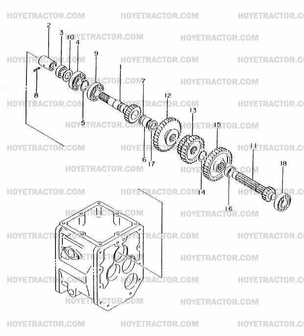 TRANSMISSION_INTERNAL_2: Yanmar Tractor Parts