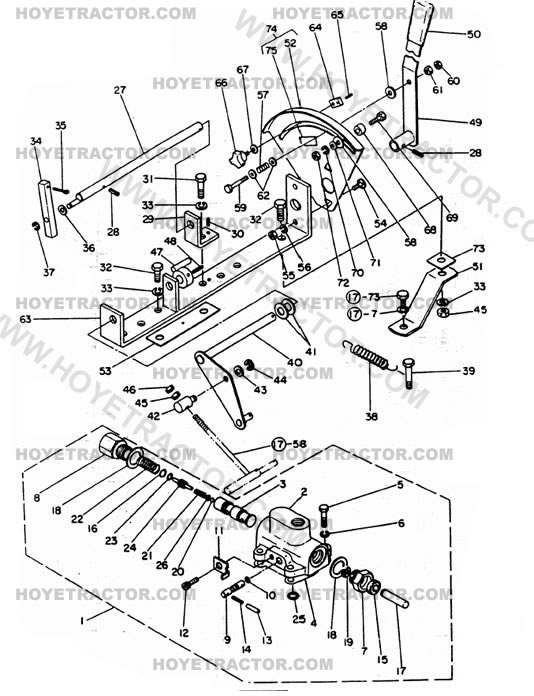 3_POINT_CONTROL: Yanmar Tractor Parts