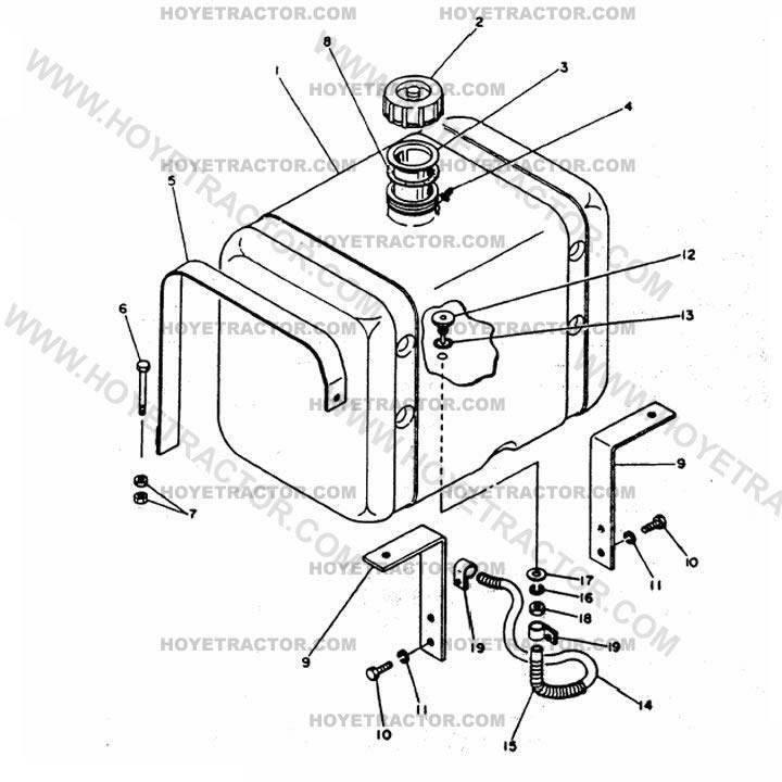 FUEL_TANK: Yanmar Tractor Parts