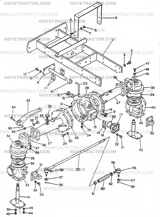 4WD_EXTERNAL_G: Yanmar Tractor Parts