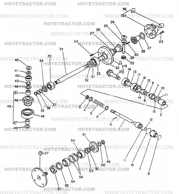 4WD_INTERNAL_G: Yanmar Tractor Parts