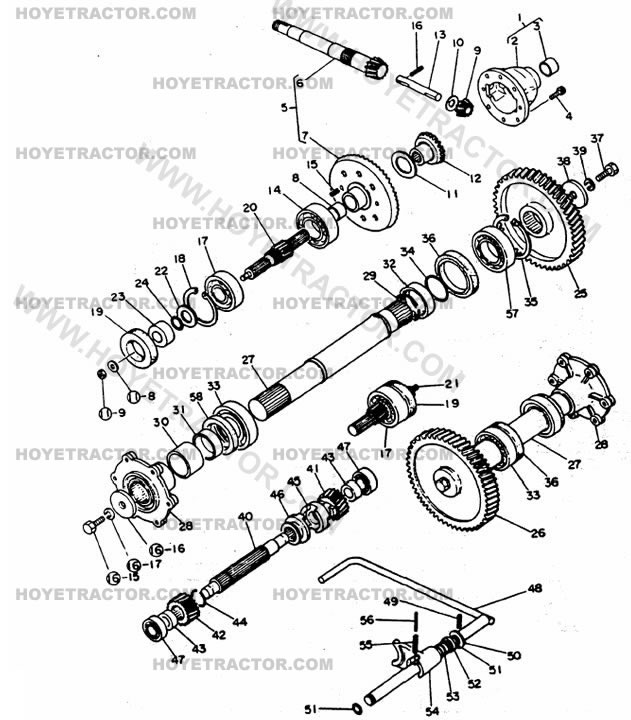 REAR_AXLE_INTERNAL: Yanmar Tractor Parts