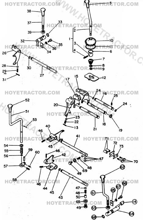 SHIFT_LEVERS: Yanmar Tractor Parts