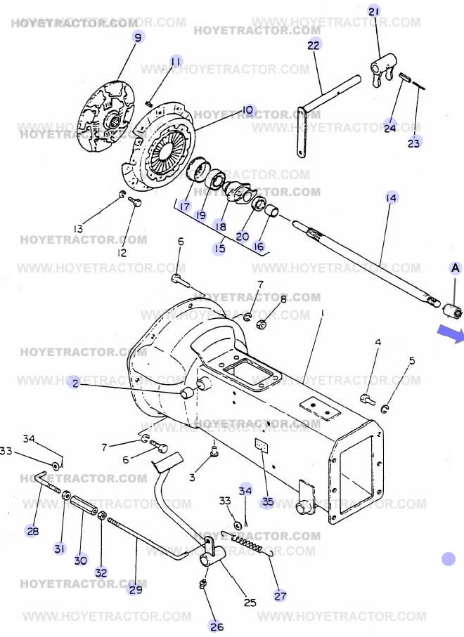 CLUTCH_G: Yanmar Tractor Parts