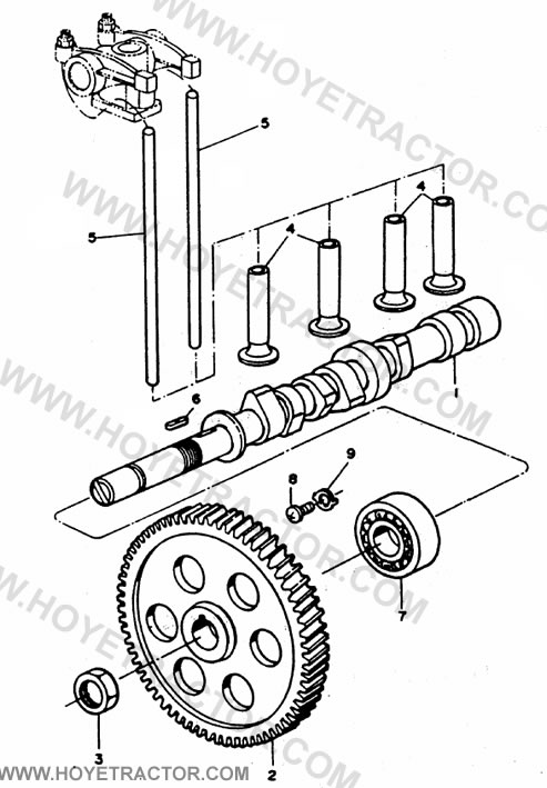CAMSHAFT: Yanmar Tractor Parts