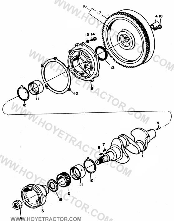 CRANK_SHAFT: Yanmar Tractor Parts