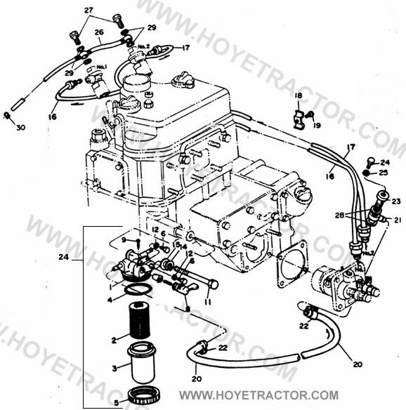 FUEL_SYSTEM: Yanmar Tractor Parts