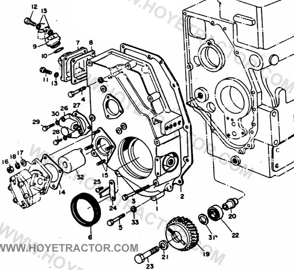 GEAR_CASE: Yanmar Tractor Parts