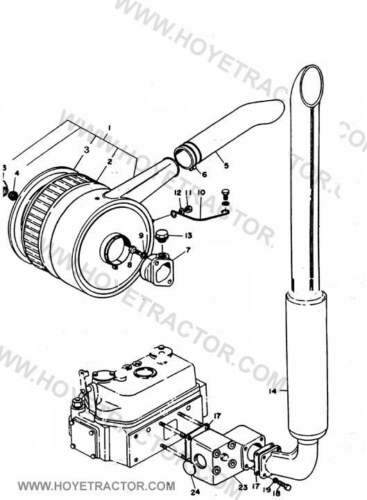INTAKE_&_EXHAUST: Yanmar Tractor Parts