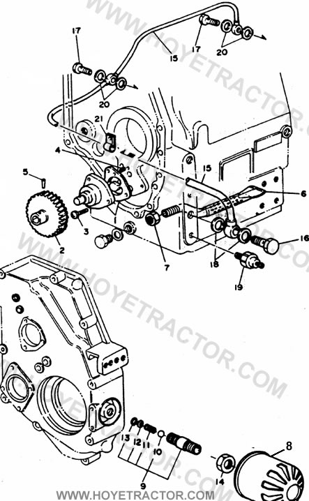 LUBRICATION: Yanmar Tractor Parts