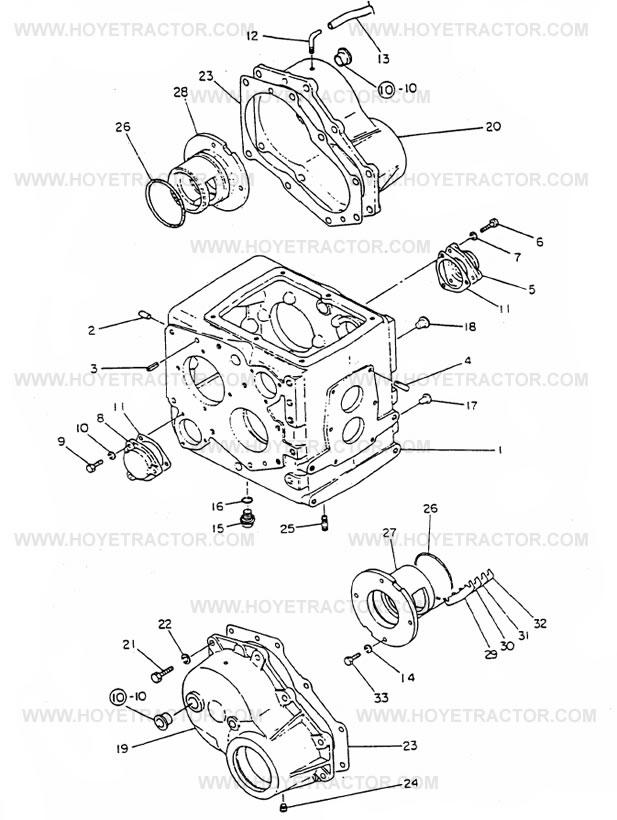 REAR_AXLE_CASE_G: Yanmar Tractor Parts