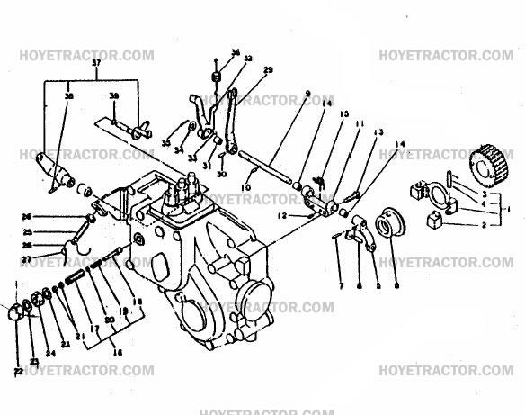 GOVERNOR: Yanmar Tractor Parts
