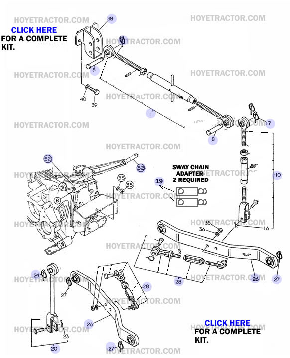 THREE_POINT_HITCH: Yanmar Tractor Parts
