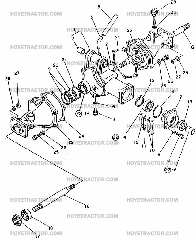 4WD_EXTERNAL: Yanmar Tractor Parts