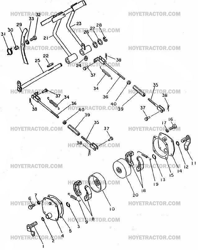 BRAKES ^: Yanmar Tractor Parts