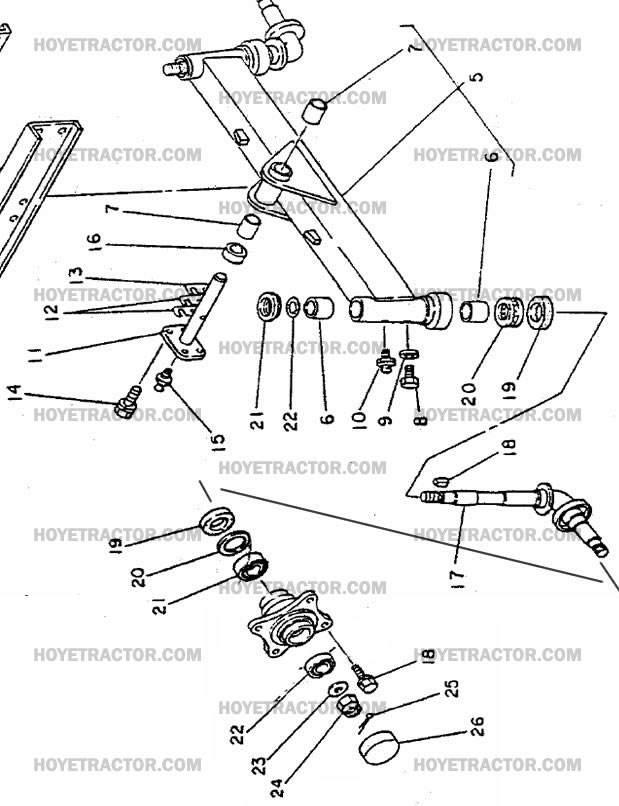 2WD_AXLE_PT2: Yanmar Tractor Parts