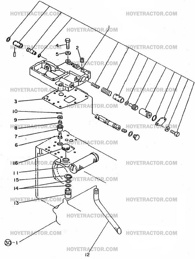 HYDRAULICS_PT1: Yanmar Tractor Parts