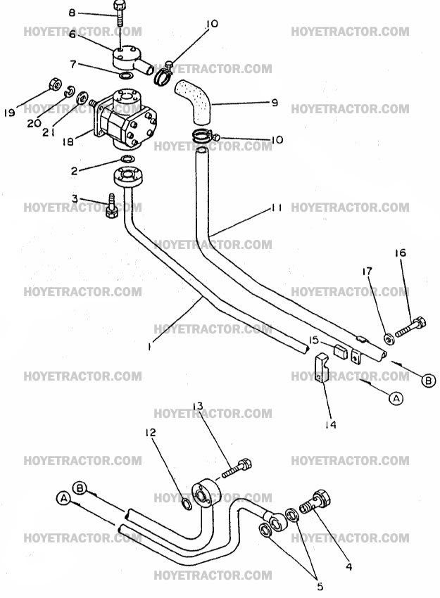 HYD_PUMP: Yanmar Tractor Parts
