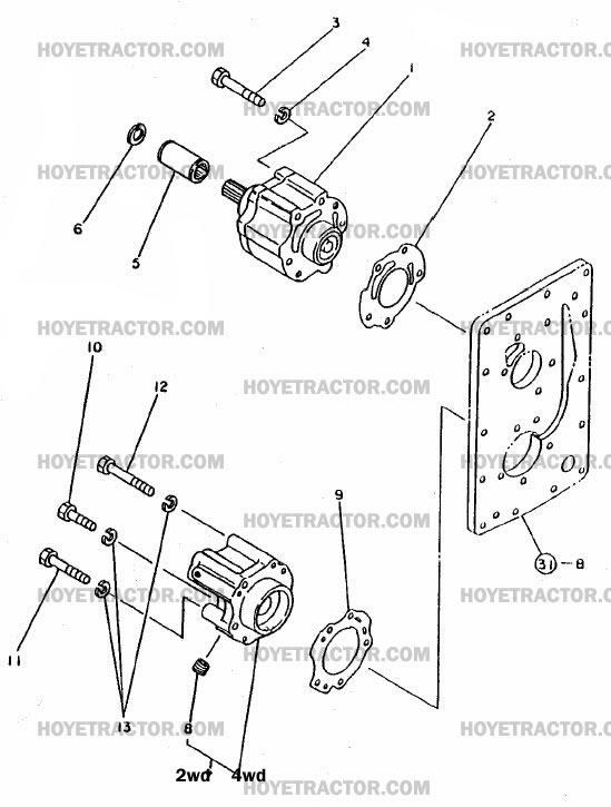 POWERSHIFT_PUMP: Yanmar Tractor Parts