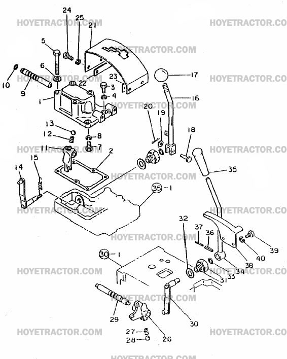 GEAR_SHIFT: Yanmar Tractor Parts
