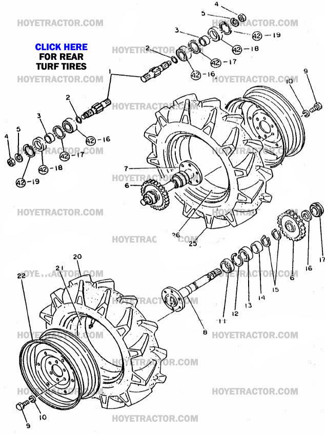 REAR_AXLE_INT: Yanmar Tractor Parts