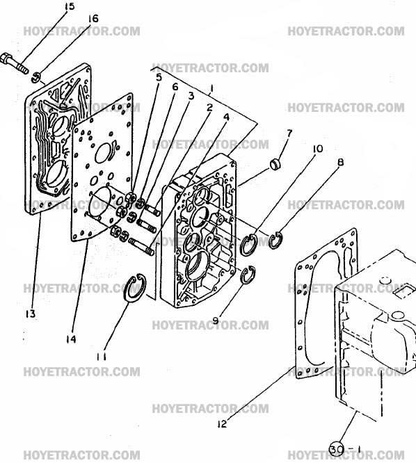 CENTER_PLATE_2: Yanmar Tractor Parts