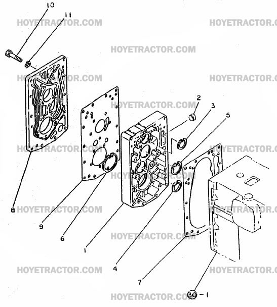 CENTER_PLATE_1: Yanmar Tractor Parts