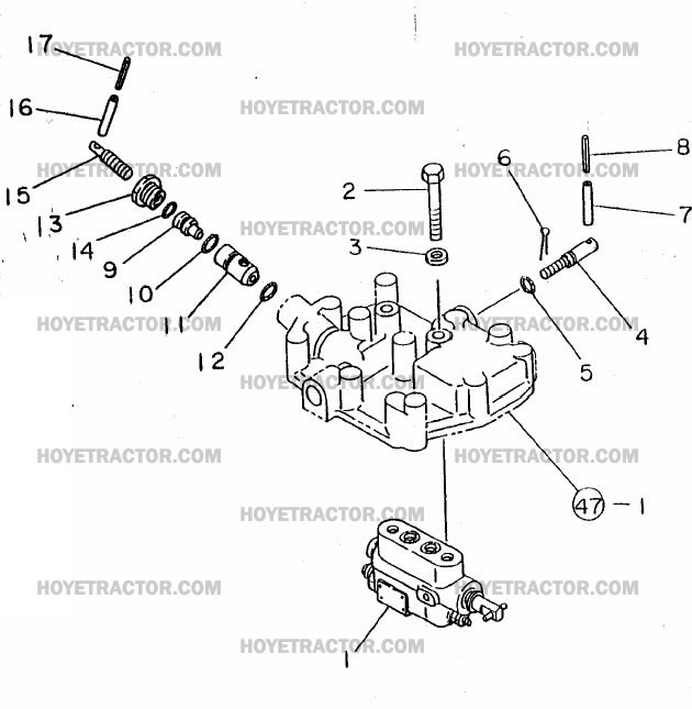 THREE_POINT_VALVE: Yanmar Tractor Parts