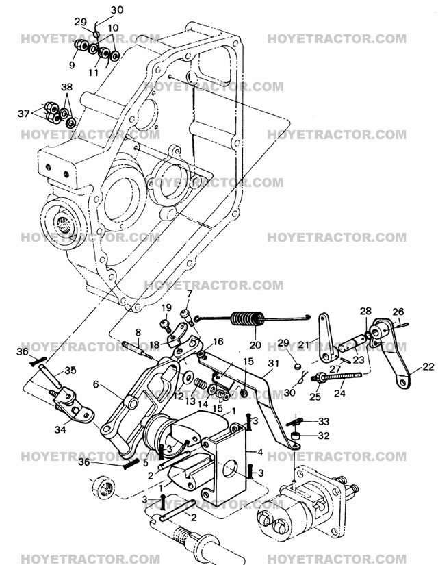 GOVERNOR: Yanmar Tractor Parts