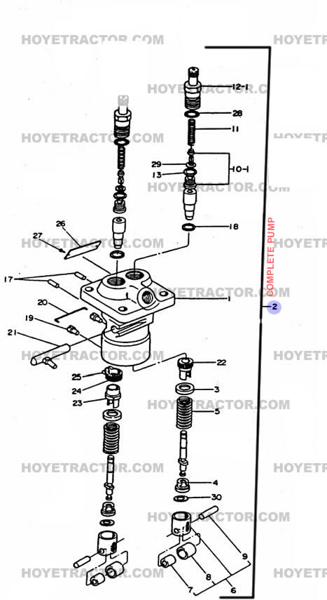 INJECTOR_PUMP: Yanmar Tractor Parts
